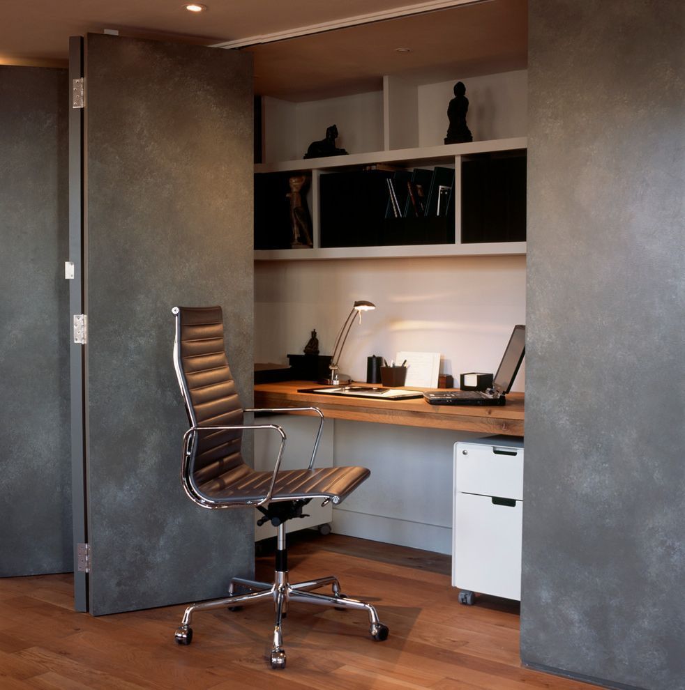 Hidden Home Office Furniture Contemporary Home Office Office Furniture Modern Home Office Cabinets