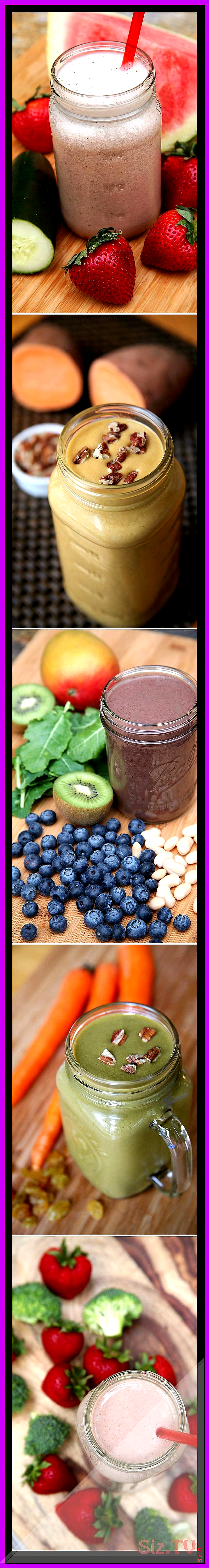 Eat More Veggies With This 7-Day Smoothie Challenge Eat More Veggies With This 7-Day Smoothie Challe...