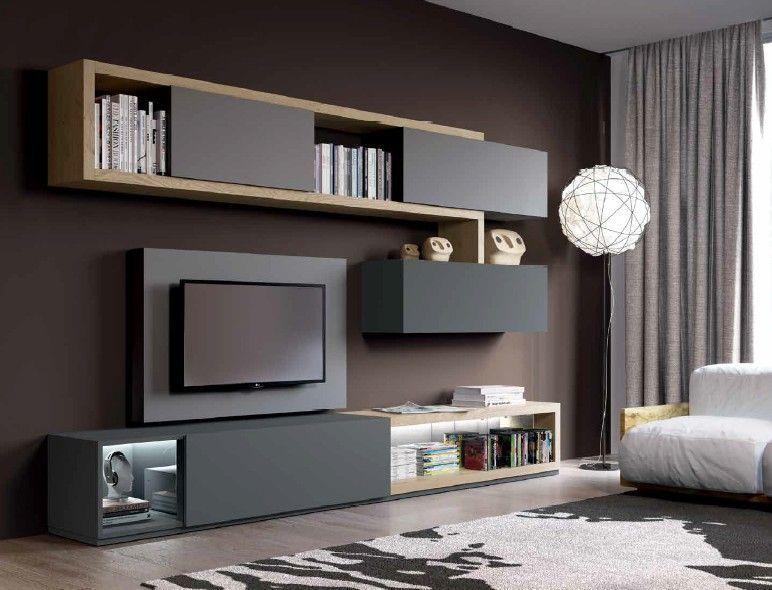 Composizione 507 Skyline 2.0 Moderno - soggiorno | Iç mekanlar nel ...
