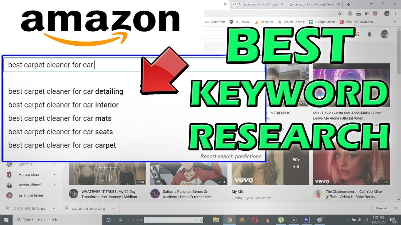 Keyword Research for Amazon Affiliate Marketing (Best Way