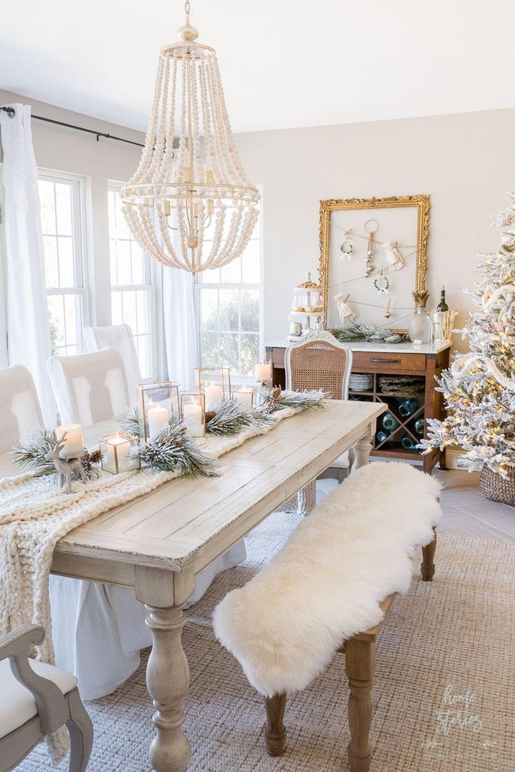 Amazing Winter White Christmas Decor Ideas Christmas Di