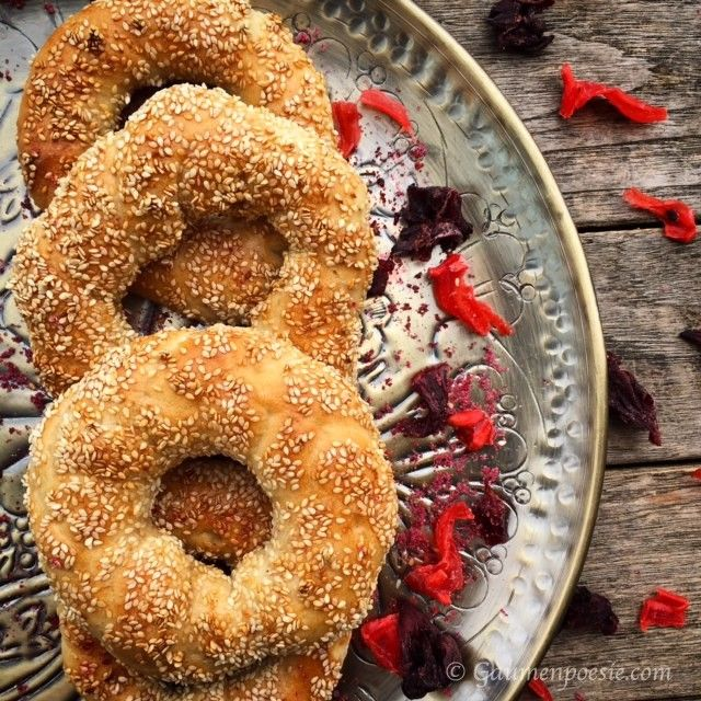 Photo of Simit – Turkish Sesame Ring – Palate Poetry