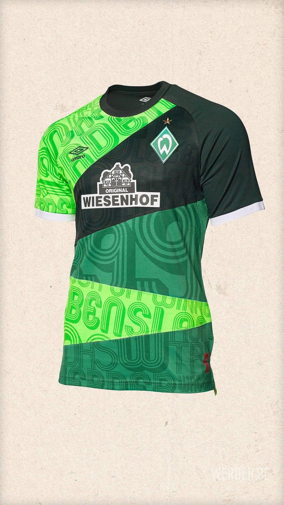 09b09f903dc41 Werder 2019 anniversary Kits De Futebol