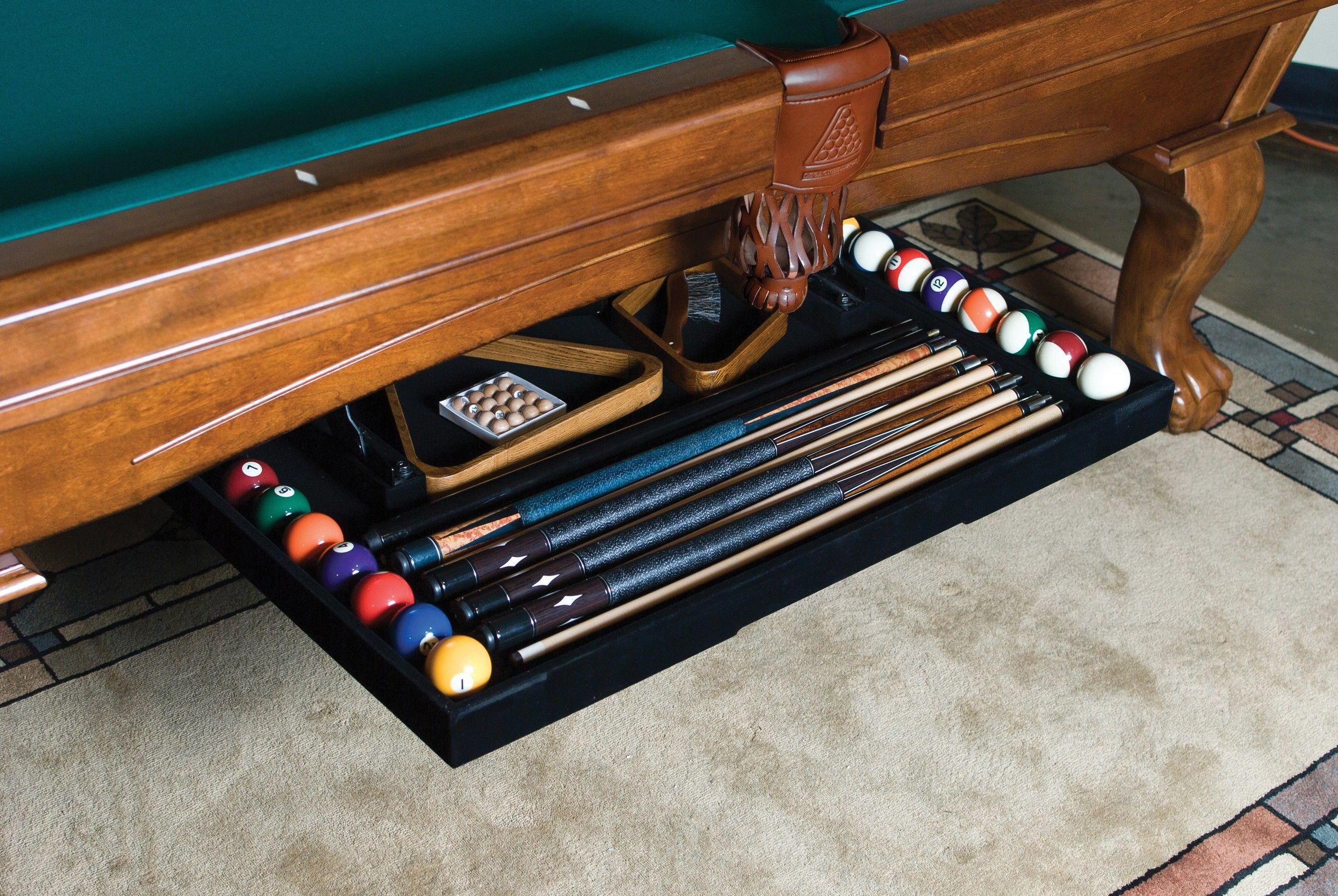 The Perfect Drawer | Pool Table Cue Rack Storage U0026 Cue Stick Holder |  Legacy Billiards