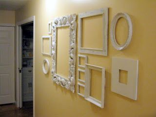 Pin By Cheryl Corker On Wall Arrangements Frames On Wall Empty Frames Frame Wall Decor