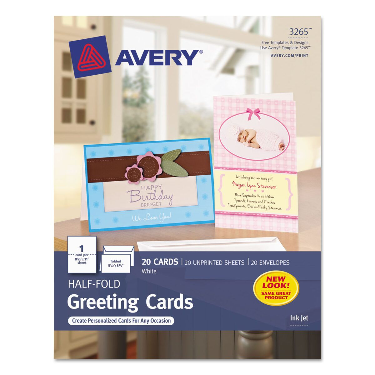 Half Fold Greeting Cards Inkjet 5 1 2 X 8 1 2 Matte White Pertaining To Half Fold Card T In 2020 Blank Cards And Envelopes Printable Greeting Cards Card Making Kits