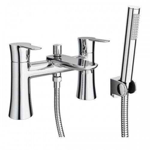 Valencia Bath Shower Mixer Tap • Modern design • Shower head and ...
