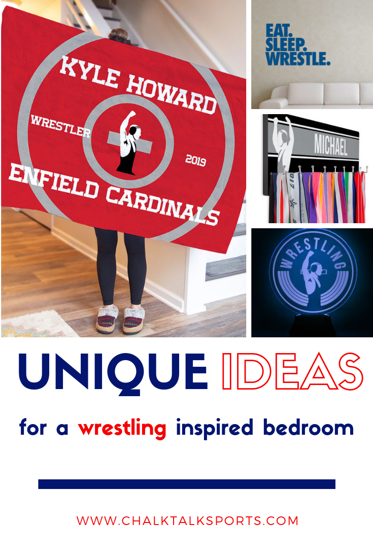 Wrestling Room Design: Check Out Our Must-have #wrestling Decor For The Dream