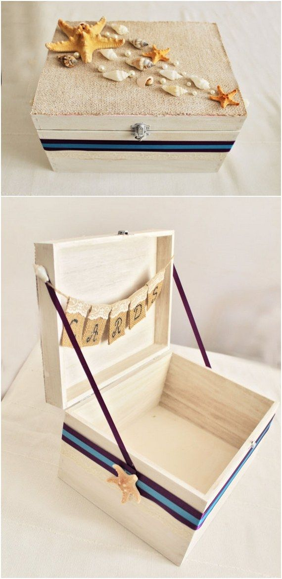 22 Creative Wedding Card Box Ideas