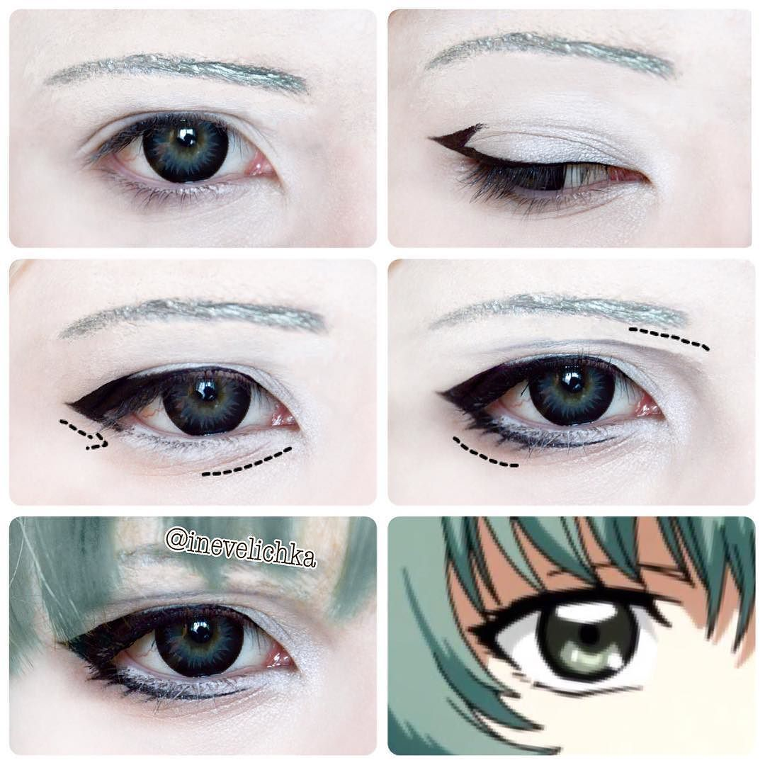 Eto yoshimura makeup tutorial for kaguyaart lenses from uniqso eto yoshimura makeup tutorial for lenses from dont forget maquillaje halloween ojos baditri Choice Image