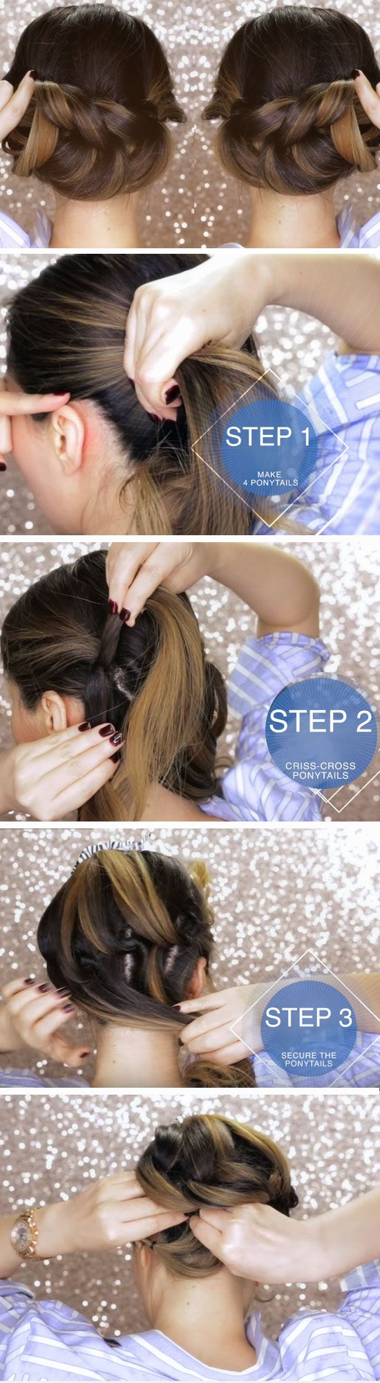 easy diy prom hairstyles for medium hair also homecoming rh za pinterest
