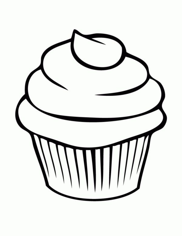 Name Tags Bread Cupcake Coloring Pages Picture 7 Bakery