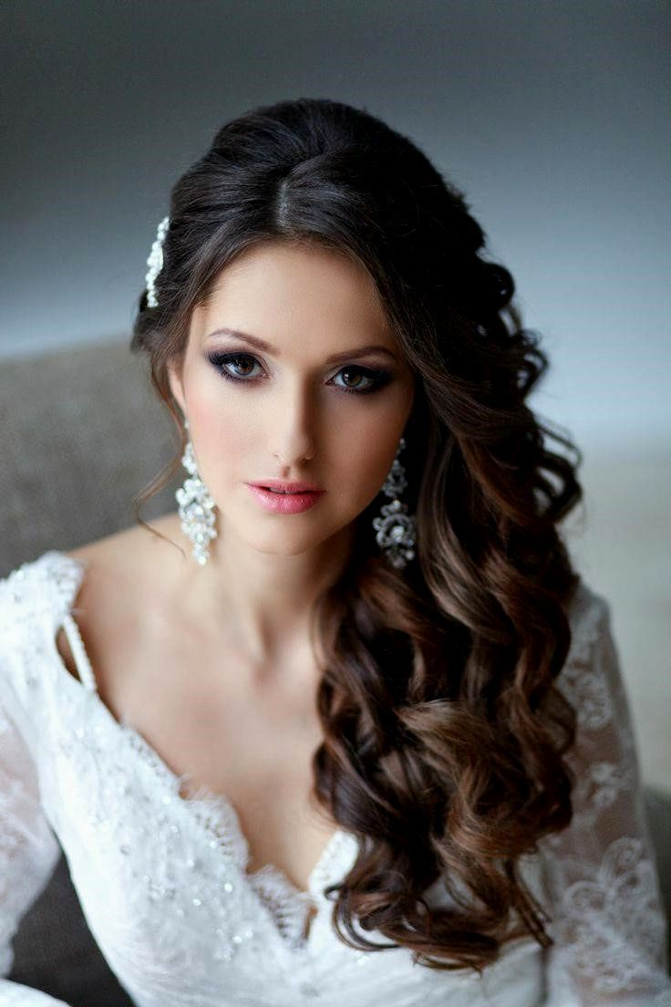Wedding Hairstyles Down Curly Wedding Decor And Design Wavy