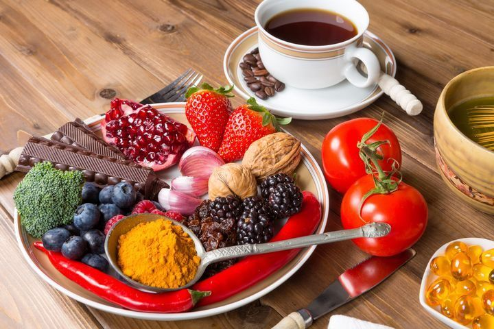 Coffee snacks on the plate Puzzle online for free  Puzzle food