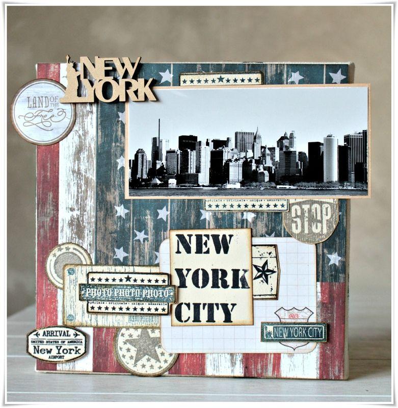 modele scrapbooking new york