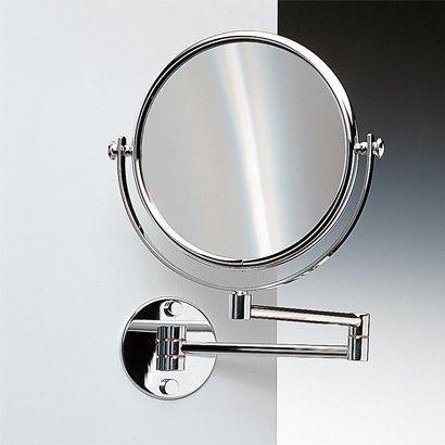 Wall Mounted Box Metal Modern Contemporary Magnifying Makeup