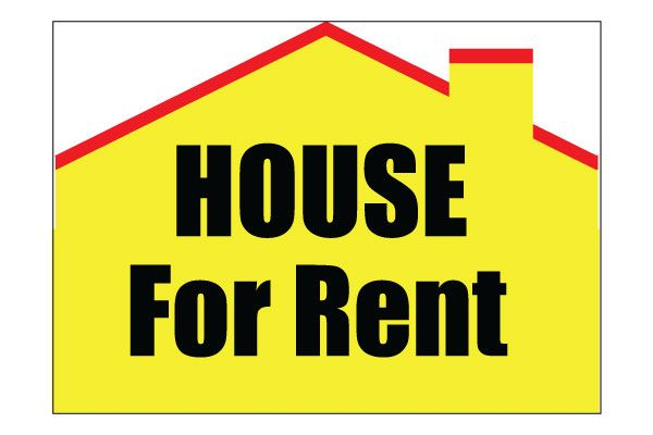 Printable House For Rent Sign Free PDF Download for Rent signs ...