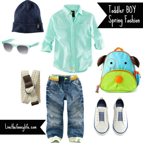 b6a4e8bc458 Toddler boy spring fashion from H