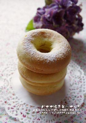 「●完熟バナナで焼きドーナッツ」handmadecafe   お菓子・パンのレシピや作り方【corecle*コレクル】