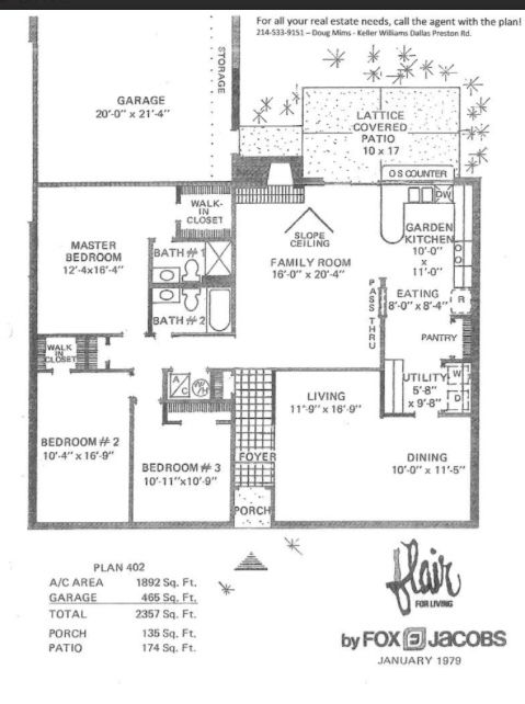 The Fox Jacobs Flair Our New Old House How To Plan Floor Plans Family Room