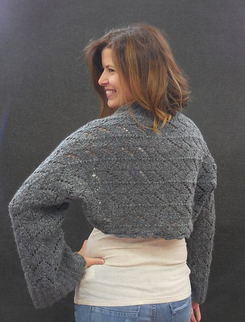 Knitting Patterns Galore - Theatre Shrug | Easy scarf ...