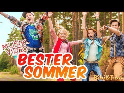 Bibi Tina Bester Sommer Offizielles Musikvideo In Voller Lange Youtube Bibi Und Tina Youtube Lieder Musik