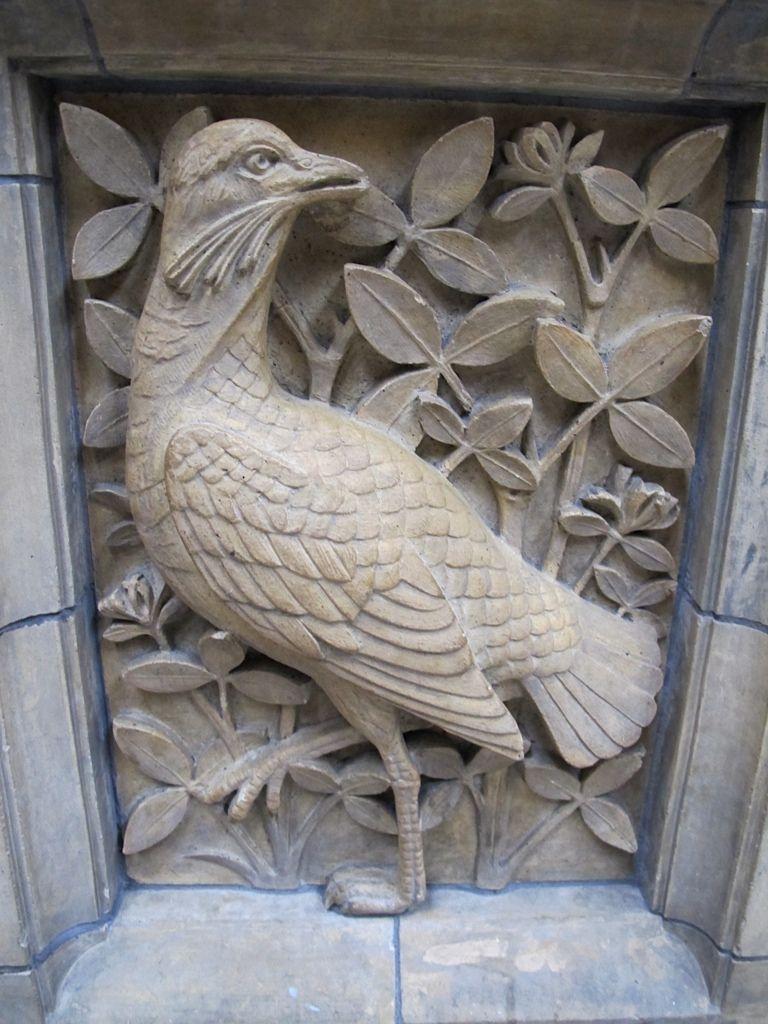 Architectural adornments ⌖ ornate building details bird