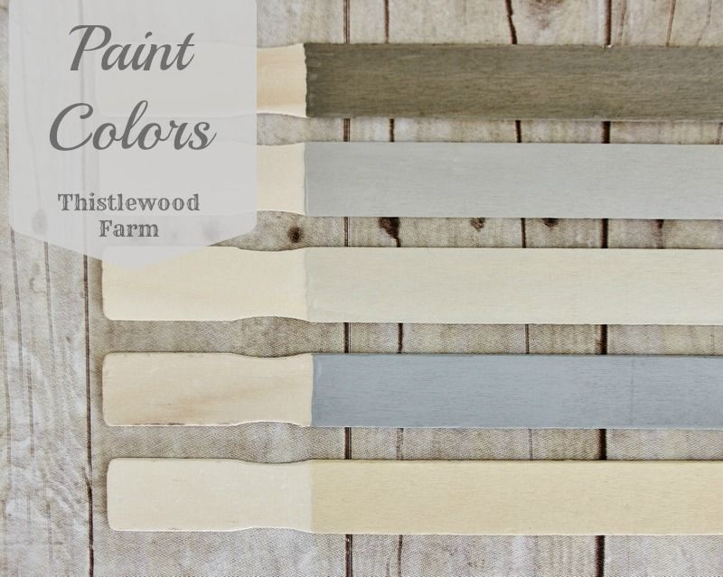 Natural Paint Colors 5 tips for picking the perfect paint colorthistlewood farm