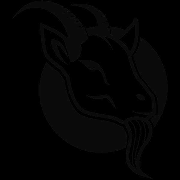 Goat Logo Kartun Domba Gambar Kartun