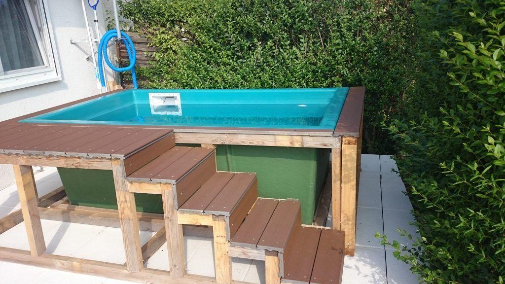Diy Pool Fur Den Garten Erfrischung In Nur Wenigen Tagen In 2020 Pool Im Garten Pool Fur Kleinen Garten Pool