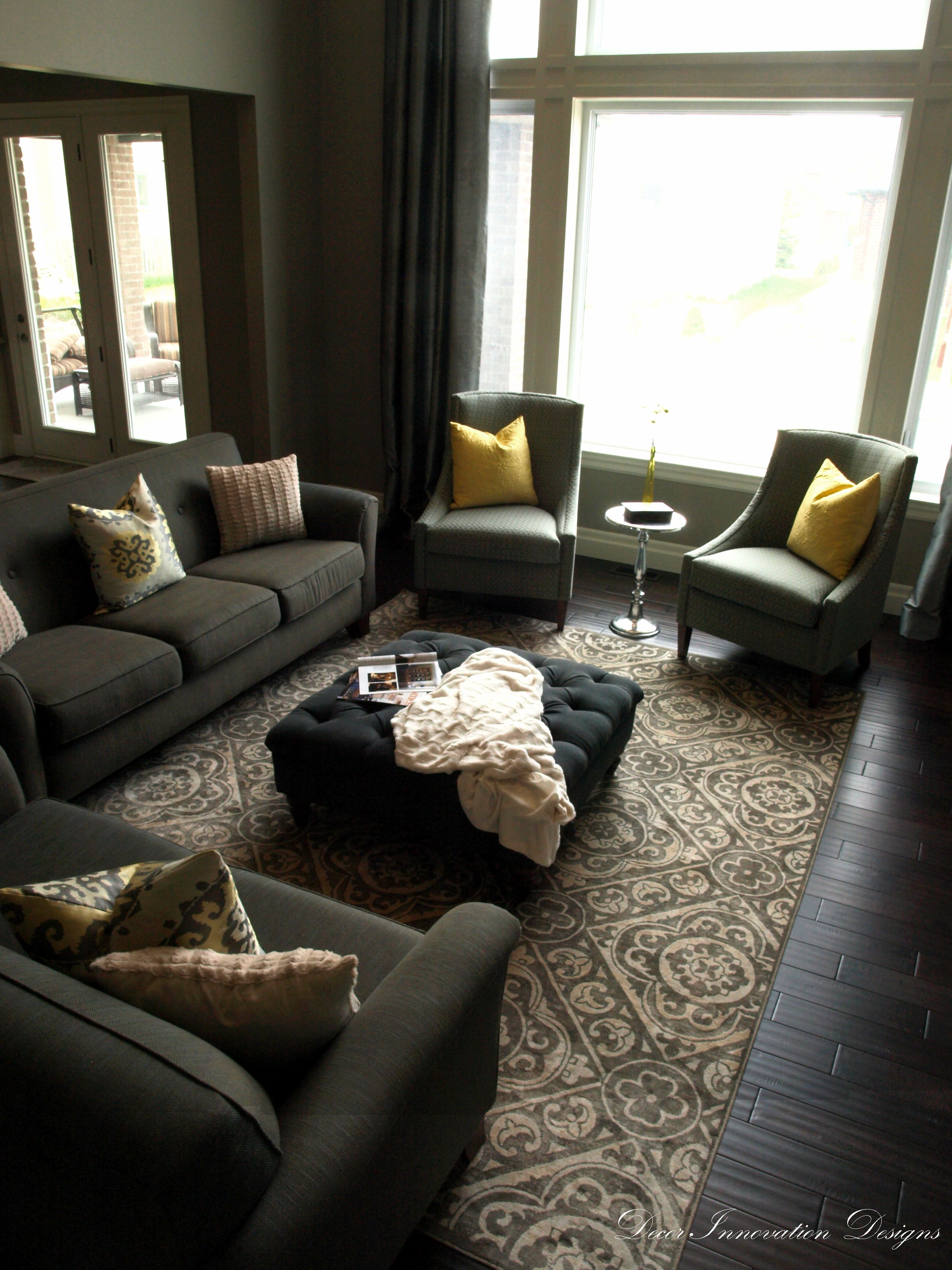 Lovely Room · Transitional And Casual Greatroom By Decor Innovation Designs