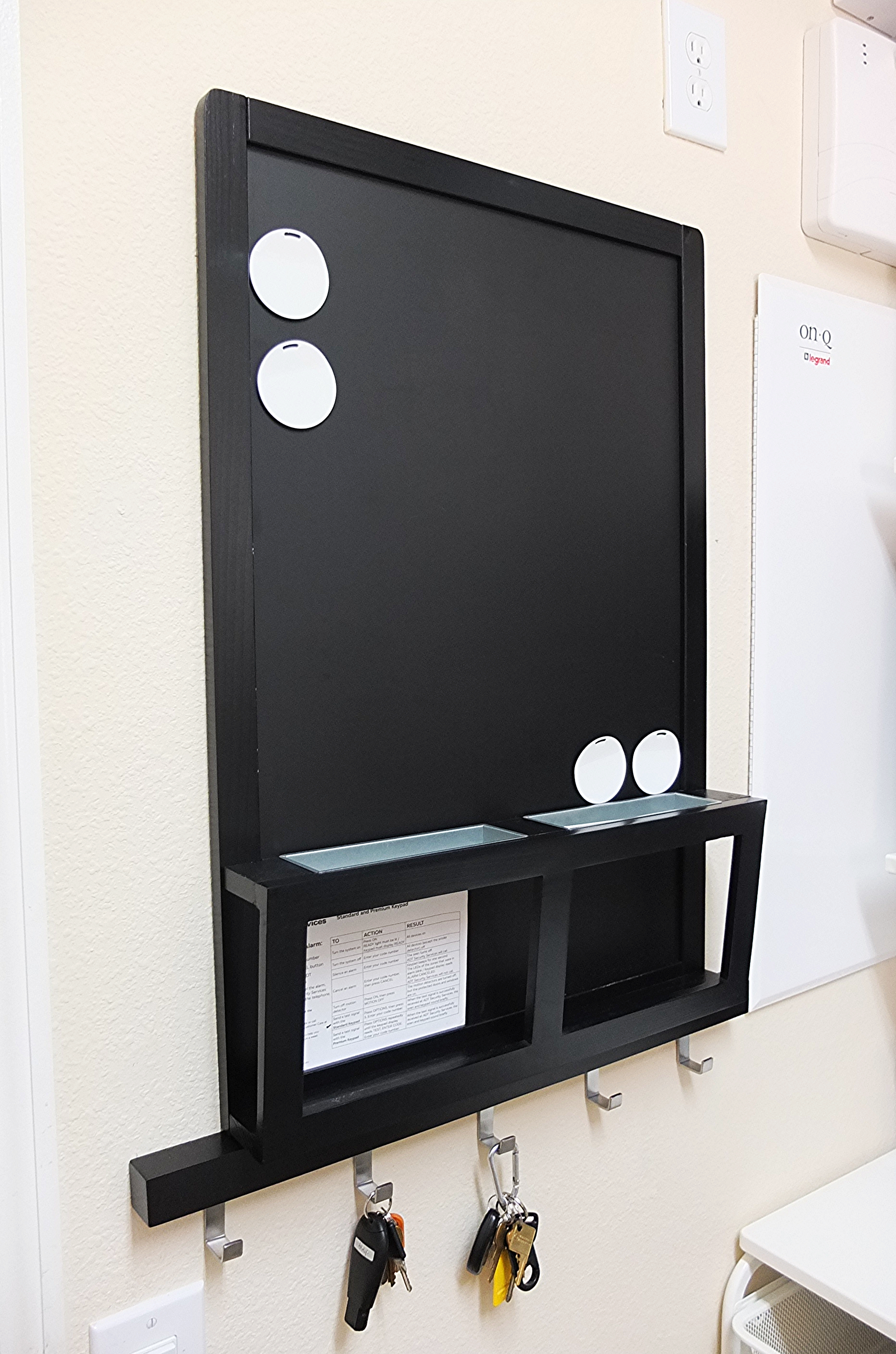 Hang The Luns Noticeboard Wherever Action Is Leave Notes Make Ping Lists And Keep Small Papers Handy With Its Magnetic Chalkboard Surface