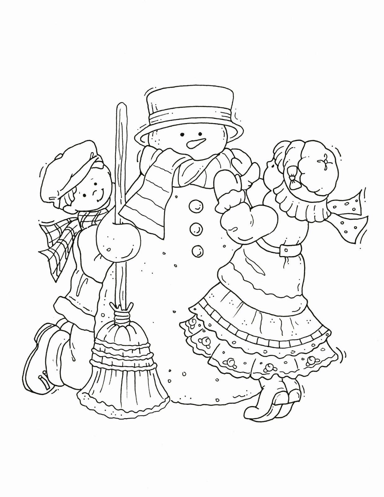 Free Clip Art Free Christmas Snowmen