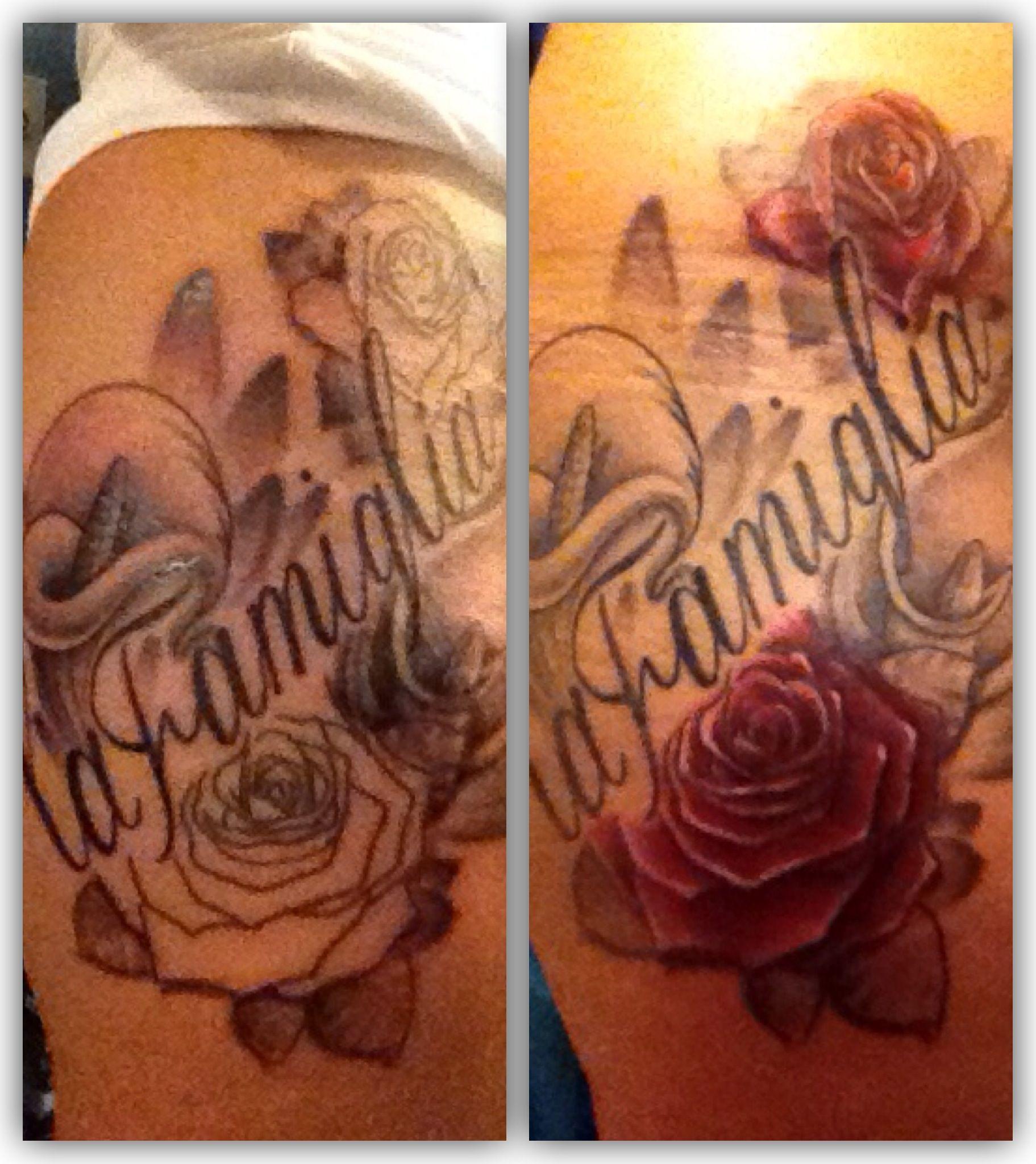 My family tattoo italian family is forever my tattoos for My family tattoo