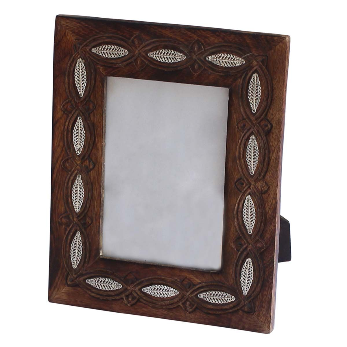 Bulk Wholesale Handmade PictureFrame in Mango-Wood with Carving and ...