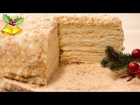 Medena Torta - Russische Honigtorte - Medovnik Rezept - Any Blum - russische k che rezepte