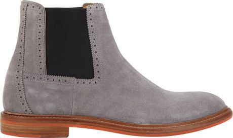 Love this: Barneys New York Suede Chelsea Boots @Lyst