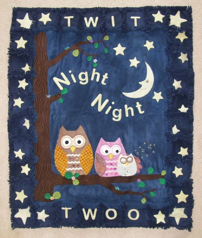 Night Owl Fleece Quilt Pattern
