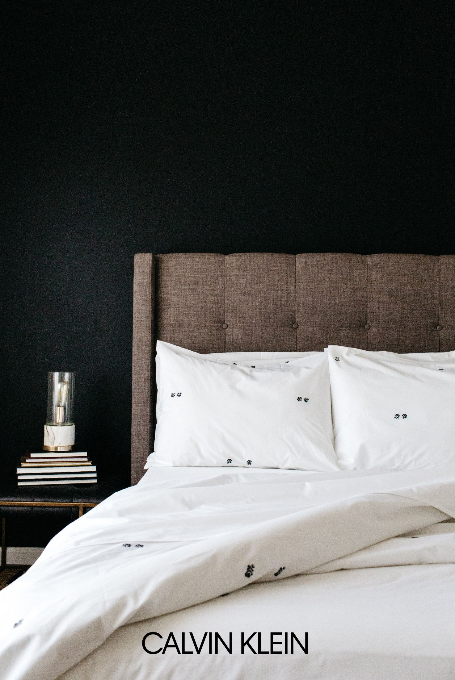 Simple modern master bedroom ideas  Introducing CALVIN KLEIN Clone bedding Quintessentially feminine