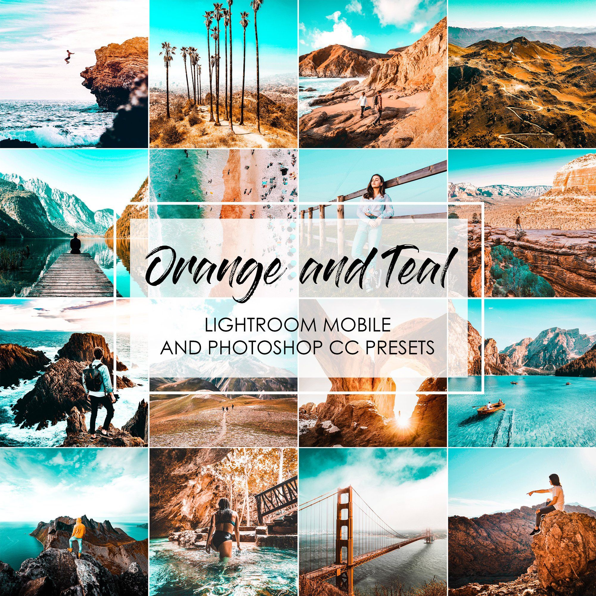 Lightroom Cc Mobile Orange And Teal Preset