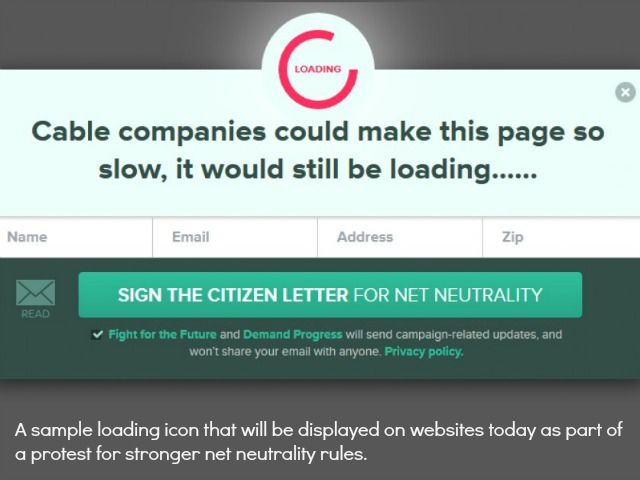 "How Are Your Visitors Engaging With Your Website?/////// In April, the FCC released proposed regulatory guidelines that sparked new fears among net neutrality proponents. The proposal includes language giving ISPs the option to create a ""fast lane"" for ""select"" websites.////// Are You kiddin' me!"