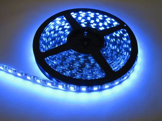 Outdoor Blue Led Strip 12volt Waterproof Tape Decorative Lighting 5050 Decorating With Christmas Lights Blue Led Lights Christmas Lights Outside