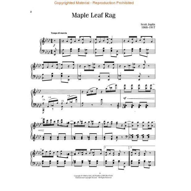 Maple Leaf Rag Original Version Maple Leaf Original Version Rag