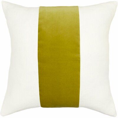 Square Feathers Ming Pillow