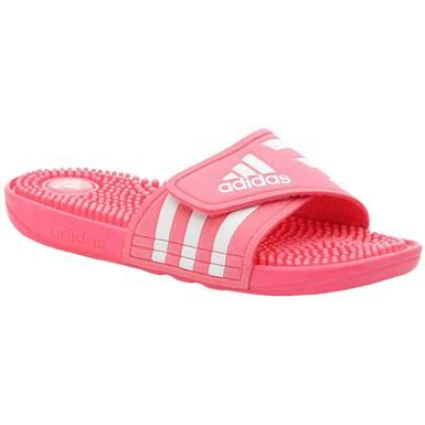 40ed3bd7c83ff Adidas Adissage Slide Sandals - Womens Pink White