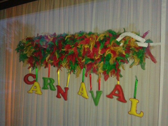 Raam Decoratie Carnaval Decoraties Carnaval Decoratie Knutselen Knutselen Carnaval