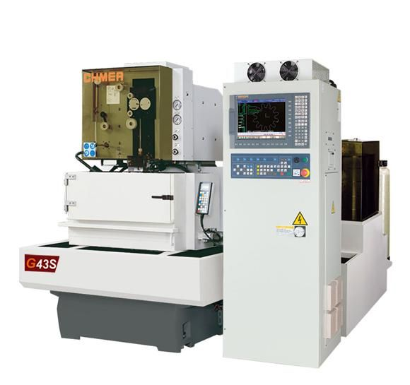 CNC Wire Electric Discharge Machine WEDM G43S SUBMERGED TYPE from ...