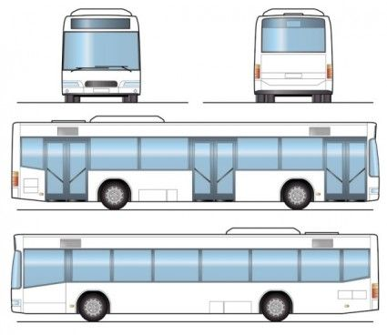 Bus 04 Vector Bus 04 Vector Is Free Vector Car That You Can
