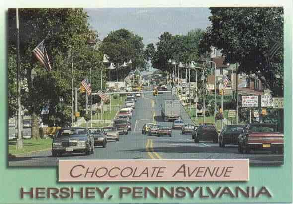 hershey pa the streetlights look like hershey kisses. Black Bedroom Furniture Sets. Home Design Ideas