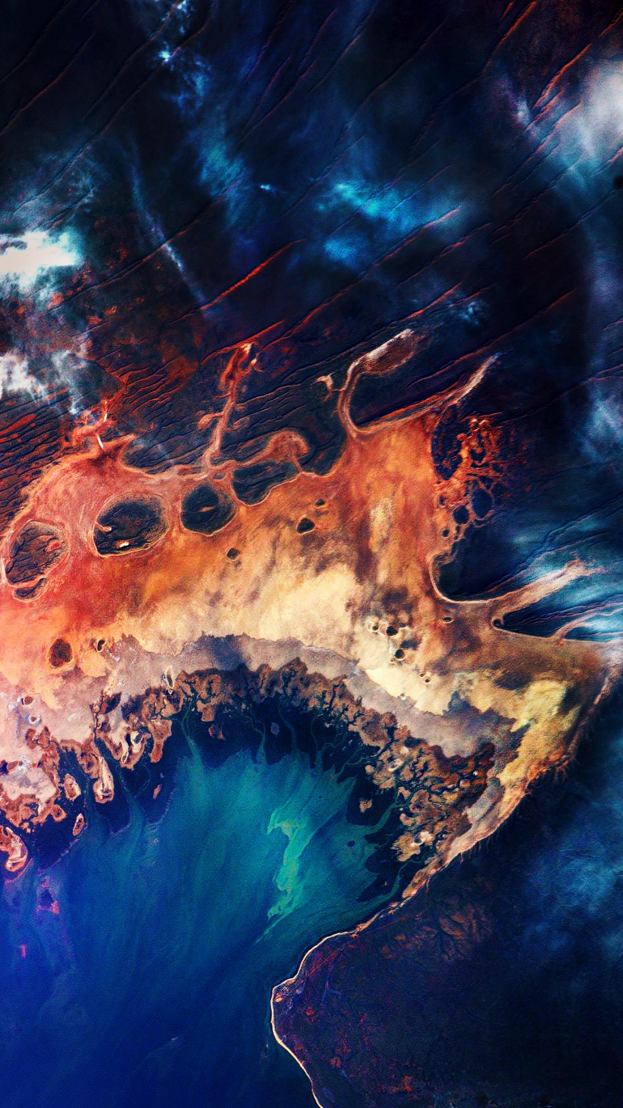 Satellite images in 2020 Earth art, Australia wallpaper